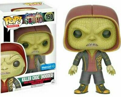 **LIMITED EXCLUSIVE** Funko POP! DC Killer Croc HOODED #150 Suicide Squad Figure