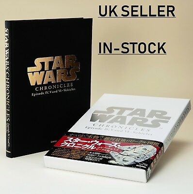 Star Wars Chronicles Episode IV, V and VI - Vehicles Hardcover COLLECTORS Book