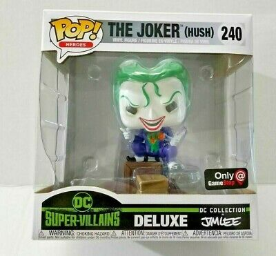 Funko POP! DC Super-Villains Collection Deluxe by JIM LEE The Joker (Hush) #240