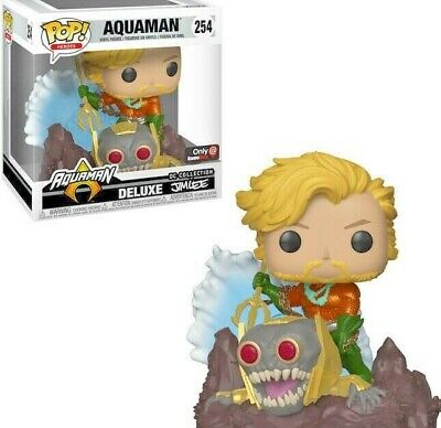 *EXCLUSIVE EDITION* Funko POP! DC Collection Deluxe by JIM LEE Aquaman #254