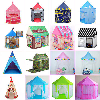 Princess Castle Play House Large Indoor/Outdoor Kids Play Tents For Baby Gift