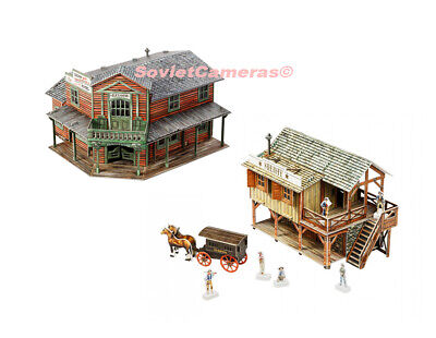 REVIRESCO BUILDINGS & Terrain 28mm 6 in 1 Bank Pack MINT
