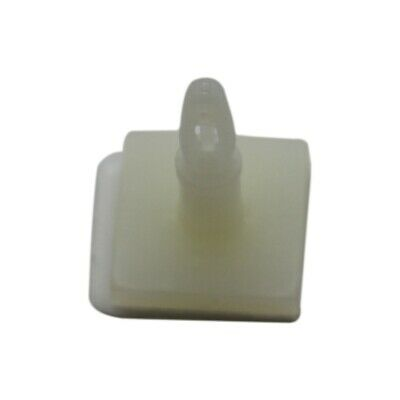 10x CGLA-4S Guide polyamide natural A40mm B20mm Mounting snap fastener