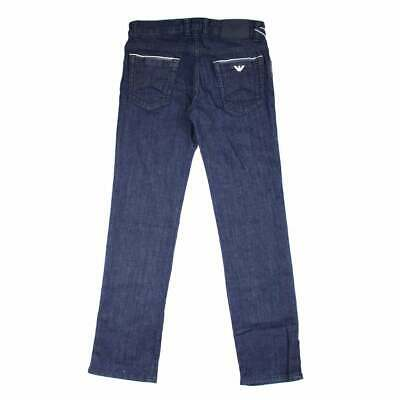 Armani Jeans Junior Raw Denim Blue