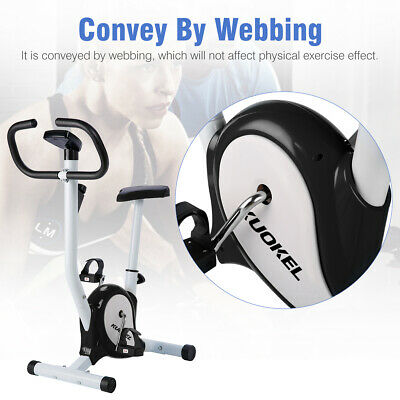 Digital LCD Bicicleta Spinning Estátcica Bici Regulable Asiento FITNESS Deporte