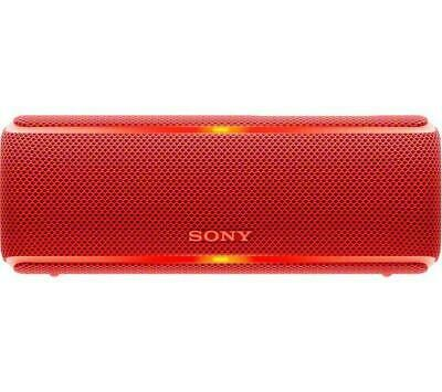 Sony SRS-XB21 Portable Bluetooth Wireless Speaker Washable and Waterproof Red