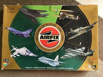 Airfix 100 Years of Flight 1903-2003 Certenary Gift set Limited Edition + Paints