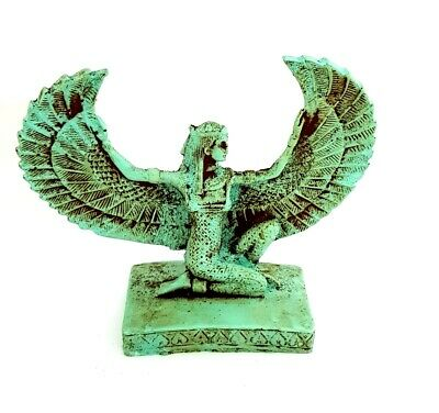 Rare Amazing Ancient Egypt Egyptian Antique Winged Isis Love Goddess Sculpture