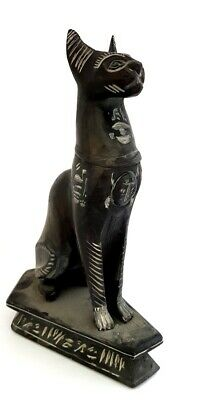 Rare Unique Bastet Statue Egyptian Cat Goddess Figurine Sculpture Bast Egypt art