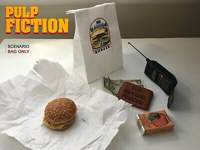 Big Kahuna Burger BAG Pulp Fiction Once upon time hollywood TARANTINO Movie prop