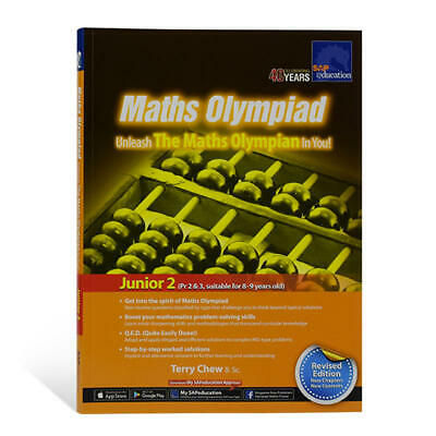 SAP Education Maths Olympiad Junior 2 for 8-9 Years Old - AU Year 4 Year 5