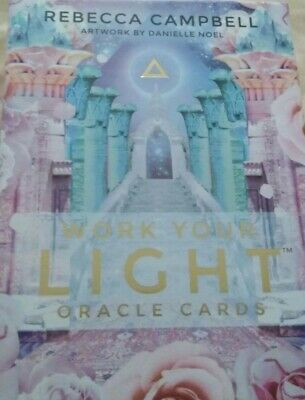 Work Your Light Oracle Cards by Rebecca Campbell Free Shipping!
