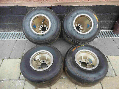 Go kart full mag slick rims / triple stud fitting / Go kart