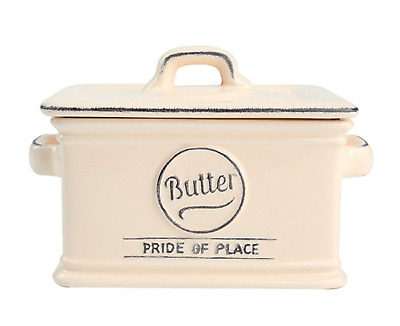 Pride of Place Vintage Ceramic Tableware Lidded Butter Dish