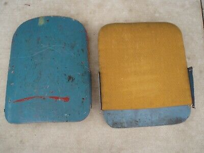 4 Vintage Movie Theater Seats - Cast Iron Ends