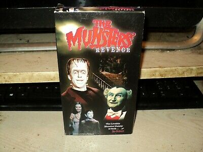 The Munsters Revenge Vhs In Color Fred Gwynne Yvonne Decarlo Al Lewis