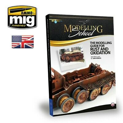 Mig Ammo 6098 Guide Book To Rust & Oxidation Effects On Plastic Model Kits