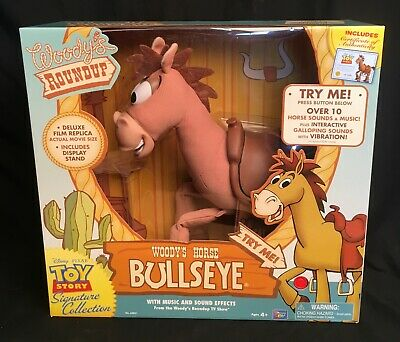 Toy Story Signature Collection Woodys Horse Bullseye Thinkway MIB