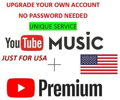 YOUTUBE PREMIUM + MUSIC - Get invite- 1 MONTH - USA ONLY