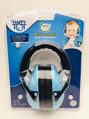 My Happy Tot Adjustable Mini Earmuffs for Children Ages 0-12, New E30 AA