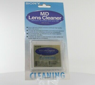 Sony MD6LCL Mini Disc Lens Cleaner (MD-6LCL)