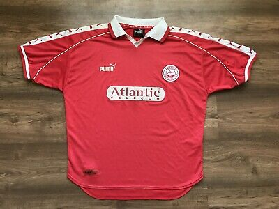 Aberdeen Scotland 1998/2000 Home Football Shirt Jersey Maglia Puma