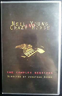 NEIL YOUNG - THE COMPLEX SESSIONS directed by Jonathan Demme (VHS)