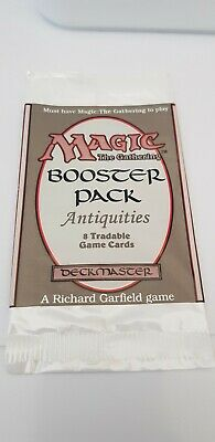 Mtg Booster Pack Antiquities Nm Empty Very Rare