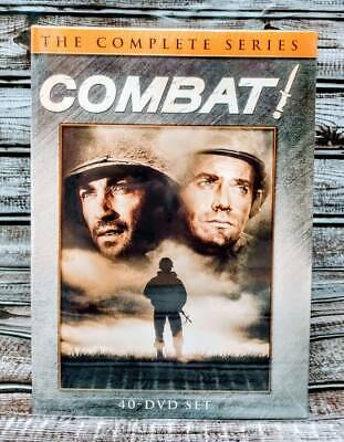 COMBAT The Complete Series Seasons 1-5 (Box Set- DVD) New! Free Shipping!