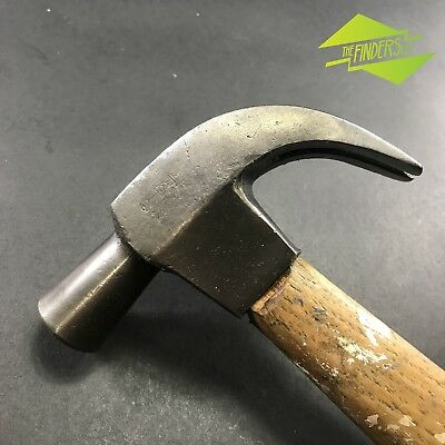 VINTAGE 20oz CYCLONE FORGING NAILMASTER CLAW HAMMER MADE IN AUSTRALIA OLD TOOLS
