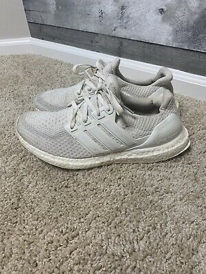 RARE ADIDAS ULTRA Boost 1.0 OG Wool Grey Womens Size 9 Mens 7.5 S77515 2015