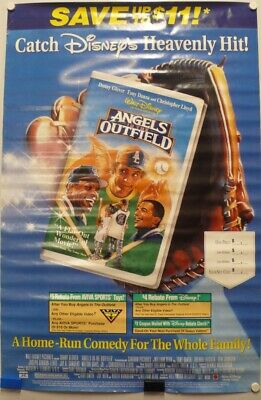 Save Up To 11 Dollars Rebates On Angels In The Outfield Poster 1995