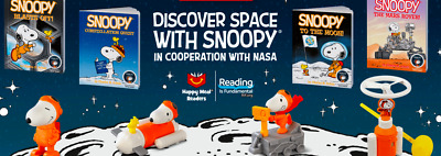 2019 McDonald's Happy Meal Snoopy NASA CHOOSE YOUR TOY FAST SHIPPING