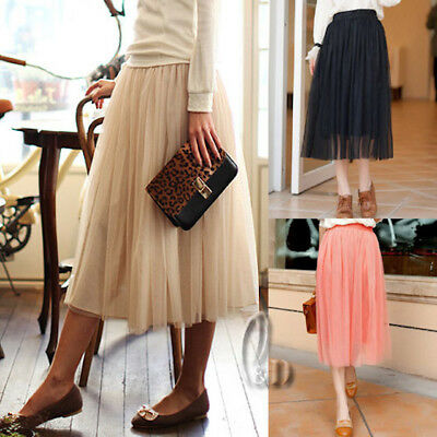 AU SELLER Retro 50s Underskirt Rockabilly Dance 3 Layered Tulle Skirt dr004-7