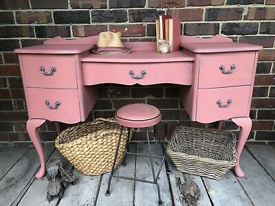 Vintage Queen Anne style dresser or desk