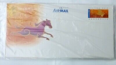2002 Pre paid lunar new year Australia post covers, 2 set