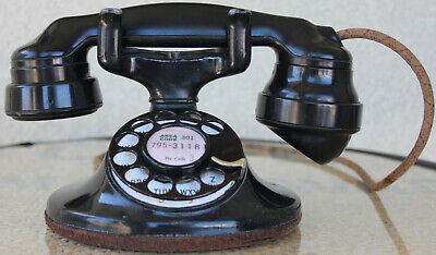 Western Electric 202 D1 Rotary Dial Oval Base Phone with E1 Handset and 4H Dial