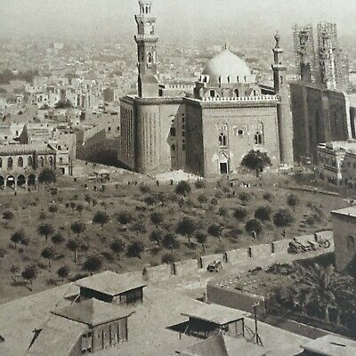 1913 Antique Print Picture Egypt View of Cairo The Mentor Association