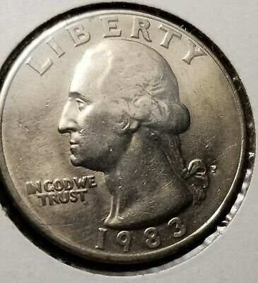1983 LINCOLN HEAD Cent, Double Die Rev, Penny ERROR, DDR