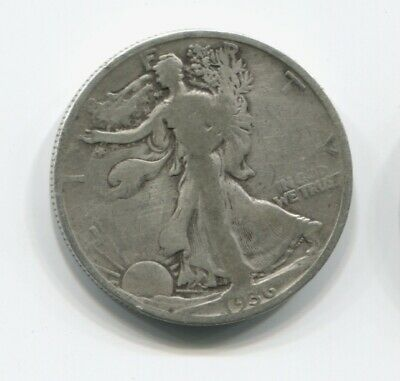 1936 Silver 1/2 Dollar USA United States Liberty K-703