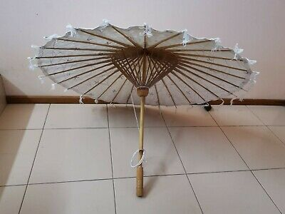 Gorgeous Oriental Style Umbrella. Great Condition. Pickup Marsfield.