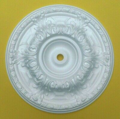 Ceiling Rose Polystyrene Easy Fit Lightweight Size 50CM 'DOWNTON'