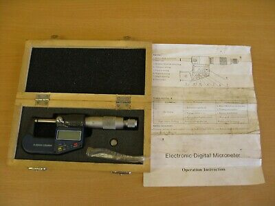 Electronic Digital Micrometer 0-25mm