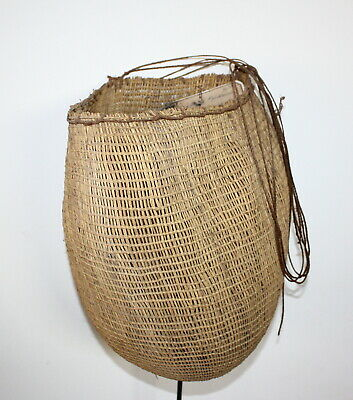 Aboriginal - Fine Early Woven Collecting  Bag - Ex Museum.