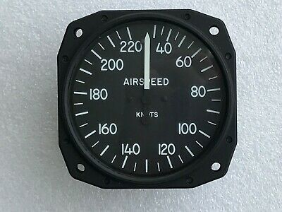 Aircraft Air Speed Indicator 3-1/8""