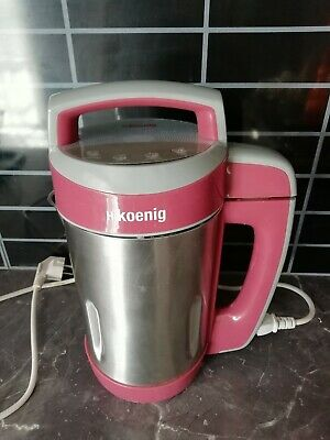 Koening Soup MakerCompote soupe smoothie