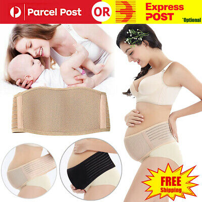 Pregnancy Belly Band Breathable Adjustable Maternity Belt Back Pelvic Support