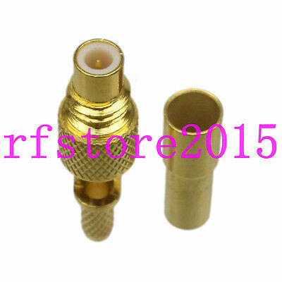Connector Subvis S5 male crimp RG316 RG174 for flaw detector Equality Ultrasonic