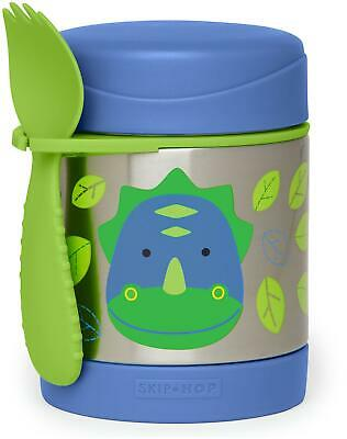 Skip Hop ZOO INSULATED FOOD JAR - DINO Toddler Feeding Storage BNIP