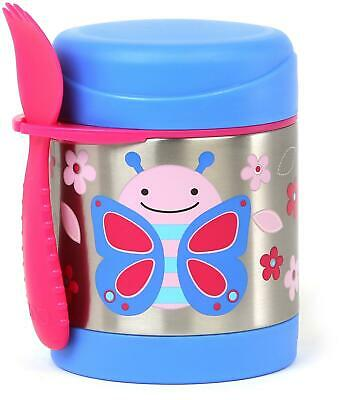 Skip Hop ZOO INSULATED FOOD JAR - BUTTERFLY Toddler Feeding Storage BNIP